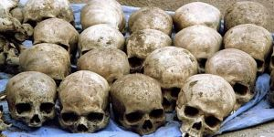 33 kafatası bulundu