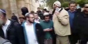Yahudiler Mescid'i Aksa'ya zorla girdi