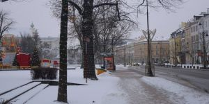 Kara kış Polonya'yı etkisi altına aldı
