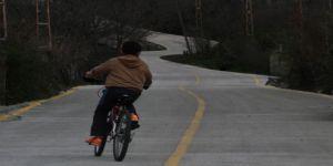 4 milyonluk beton yol projesi hayata geçti