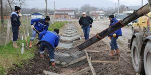 Cadde ve sokaklarda kanal suyu çalışmalarına başlandı