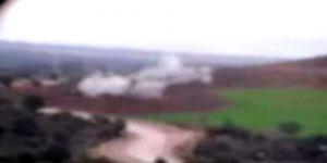 Fırtına obüsleri terör örgütü PYD mevzilerini böyle vurdu!