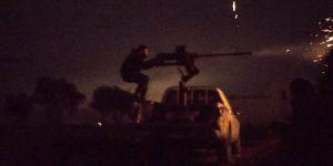 Sınırda Hareketli Dakikalar ! Canlı Bomba Kendini Patlattı