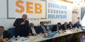 ETSO Meclis Başkanı Özakalın, Erzurum'a çekim gücü yatırım istedi