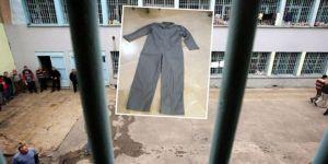 Tek tip kıyafetler O Cezaevine gönderildi
