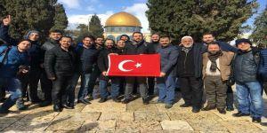 Türk iş adamlarına Kudüs'te gözaltı