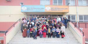 41 özel eğitim öğrencisi diş taramasından geçirildi
