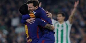 Barcelona gol yağdırdı: 5-0