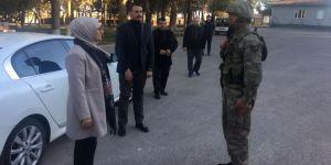 Katırcıoğlu, sınıra gitti