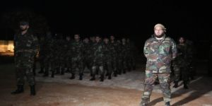 Azez'deki ÖSO askerlerinden Afrin'e takviye