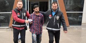 Vahşi koca tutuklandı