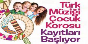 SGM'de Çocuk Korosu kayıtları devam ediyor