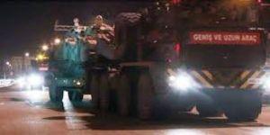 Gülbaba'ya tank sevkiyatı sürüyor