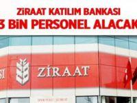 Ziraat Bankası 2200 Personel Alıcak