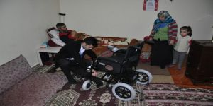 Engelli vatandaş artık sokağa çıkabilecek