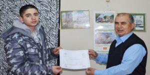 28 kişiye avcılık belgesi verildi