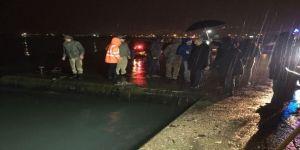 Polis otosu denize düştü: 1 polis kayıp!