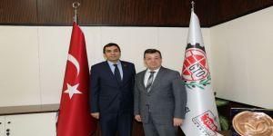 GTO Başkanları Atatürk'ün Gaziantep'i teşriflerinin 85. yıl dönümünü kutladı