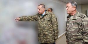 Cumhurbaşkanı Erdoğan'da sınırda !