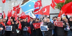 Kopenhag'da Zeytin Dalı Harekatı'na destek