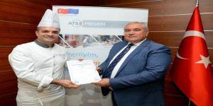 Türkiye'nin mesleki yeterlilik belgeli ilk baristaları ATSO'dan