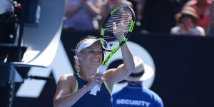 Wozniacki'den ilk grand slam şampiyonluğu