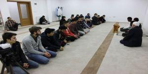 Yabancı öğrenciler, Afrin operasyonu için Fetih Suresi okudu