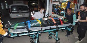 6 Suriyeli, 1 Afganistanlı trafik kazasında yaralandı