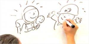 """""""Kardeşlik ve Mültecilik"""" konulu ödüllü karikatür yarışması düzenleniyor"""