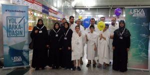 Ufka Yolculuk kazananları, Umre ile ödüllendirildi