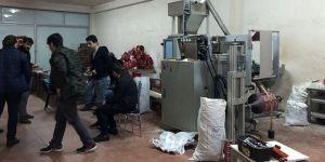 Sancaktepe'de sahte ilaç imalathanesine baskın