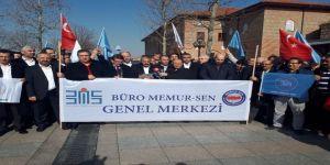 Büro Memur-Sen'den Zeytin Dalı Harekatı'na destek