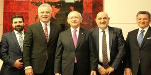 Kılıçdaroğlu, Hukuk Akademi Derneği heyetini kabul etti