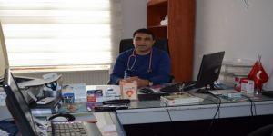 Sason Devlet Hastanesine atanan çocuk doktoru göreve başladı