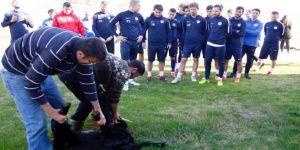 Antalyaspor, kurban kesti
