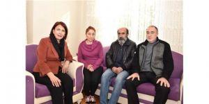 Avcılarlı gazinin ailesine Başkan Benli'den ziyaret