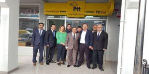 Yeni PTT şubesi hizmete girdi
