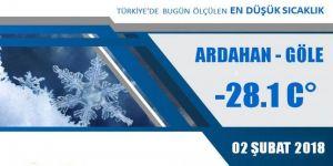 Doğu Anadolu donuyor