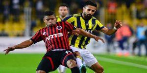 Fenerbahçe, Kadıköy'de 2 puan bıraktı