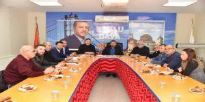 Başkan Doğan, mahalle temsilcileriyle bir araya geldi
