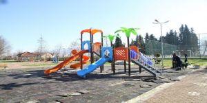 Başiskele'de oyun parkları yenileniyor