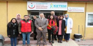 Erzincan'da Gençlerden Ketem ziyareti