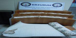3 kilo 819 gram Eroin maddesi ele geçirildi