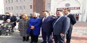 Milletvekili Erdoğan, FETÖ/PDY davasını takip etti