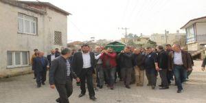 AK Parti İlçe Sekreteri son yolculuğuna uğurlandı