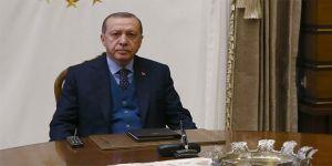 Erdoğan, Diyanet İşleri Başkanını kabul etti