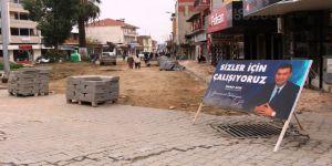 Germencik Belediyesi Çanakkale Anıtı'nı restore ediyor