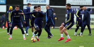 Fenerbahçe'de Başakşehir hazırlıkları başladı