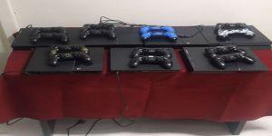 Playstation kafe hırsızları yakalandı