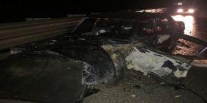 Trafik kazası: 2'si çocuk 5 kişi yaralandı